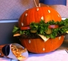 DIY Hamburger Pumpkin